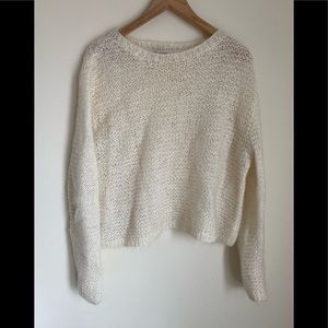 NWOT the limited beautiful soft Off white sweater